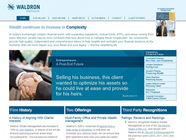 Waldron Wealth Management
